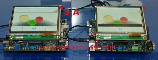 STM32 F7 vs F4 demo