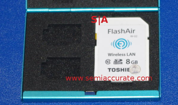 Toshiba FlashAir SD card