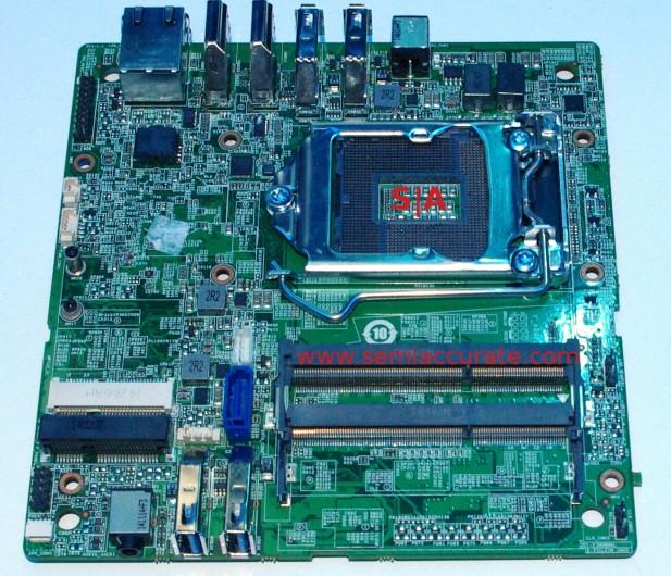 Intel sub-ITX SFF mobo