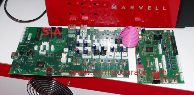Large and small Marvell 3D printer boards