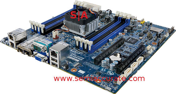 Gigabyte MP30-AR0 Applied Micro ARM server board