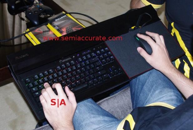 Corsair Lapdog gaming case