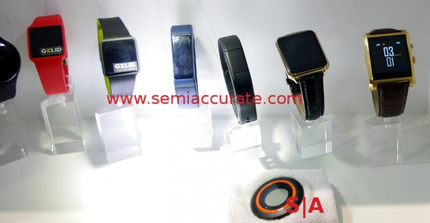 Some of the Gelid wearables