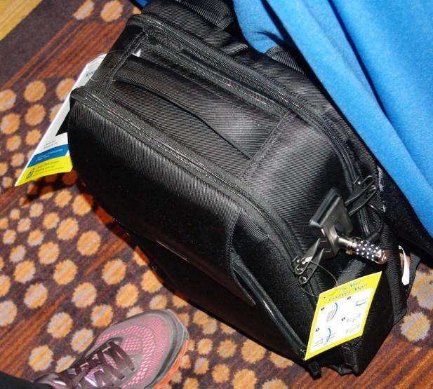 Kensington SecureTrek locking luggage