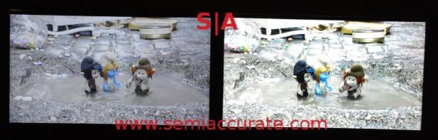 MediaTek MT8581 HDR rendering vs SD
