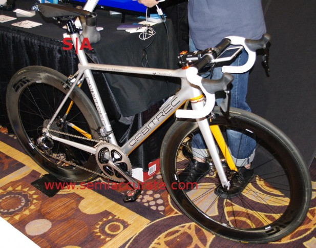 Cerevo Orbitrec 3D printed bike
