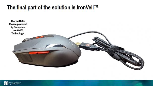 Synaptics IronVeil Reader