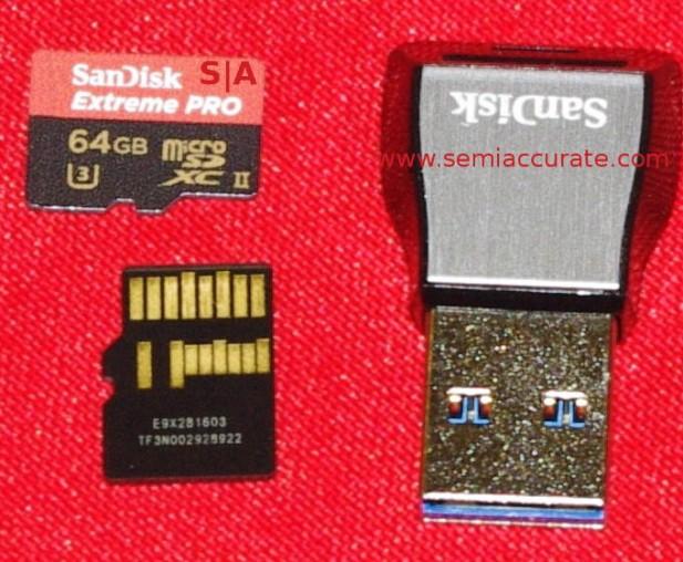 Sandisk UHS-II micro-SD card