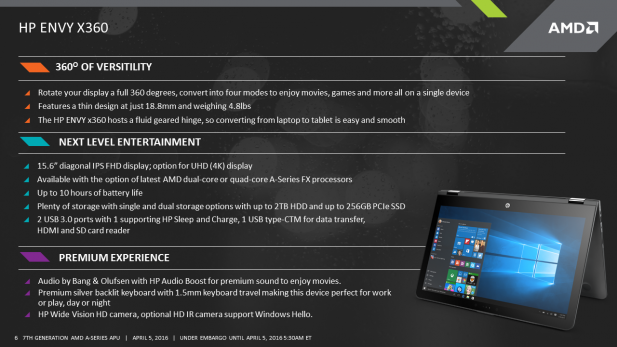 7th Generation AMD A-Series Processors Pre-Announce Press Deck3