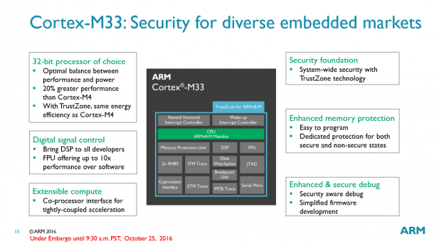 arm-cortex-m33-core