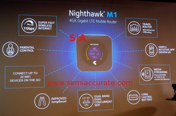 Netgeatr Nighthawk M1 features
