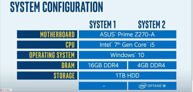 Intel Xpoint demo systems specs 2