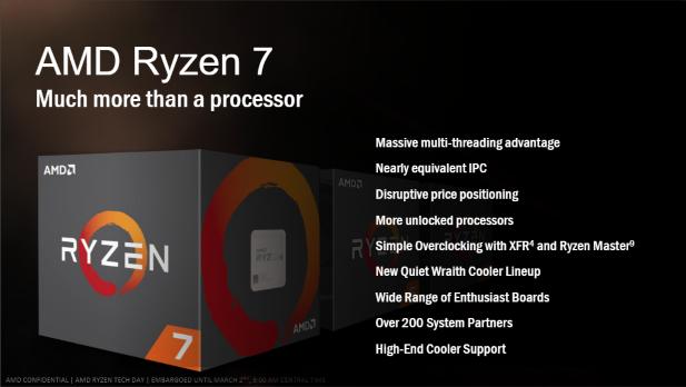 AMD Ryzen 7 Why