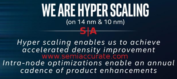 Hyperscaling definition slide from Stacy Smith at Manufacturing Day