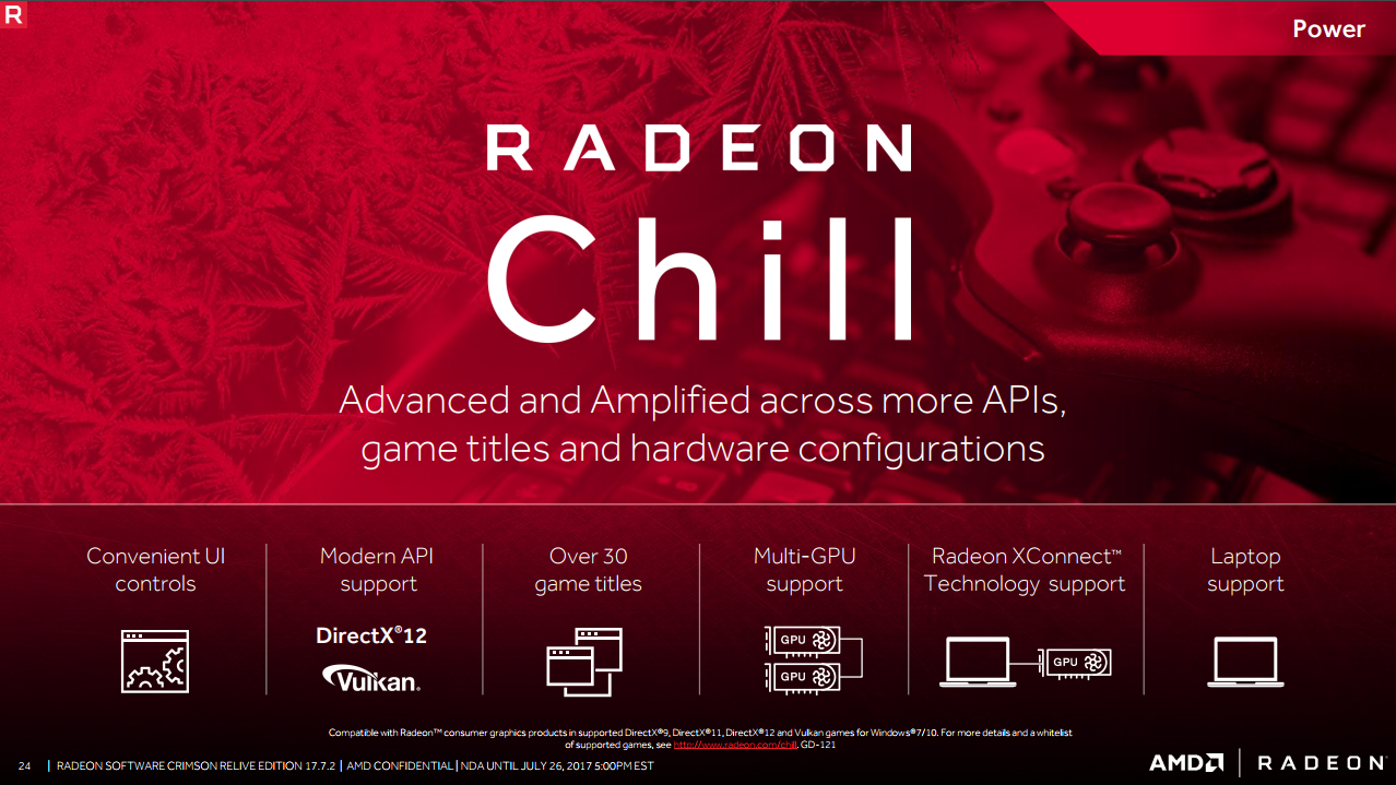 Poster design software windows 7 - Amd Is Still Working On Its Radeon Chill Feature Which Aims To Reduce Power Consumption By Dynamically Capping Framerates Based On How Much You Re Moving In