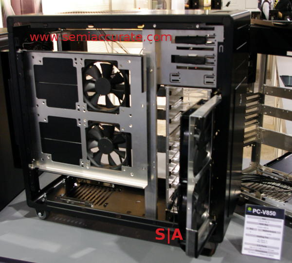 Lian-Li PC-V850 case and air routing fans