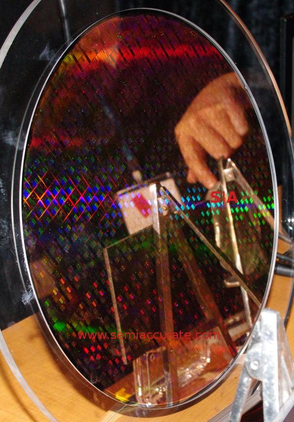 IBM 14nm test wafer