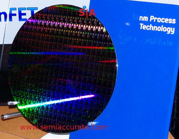 Samsung 14nm test wafer