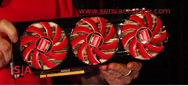 AMD HD7990 dual Tahiti GPU