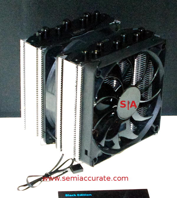 Gelid Black Edition CPU heatsink and fan