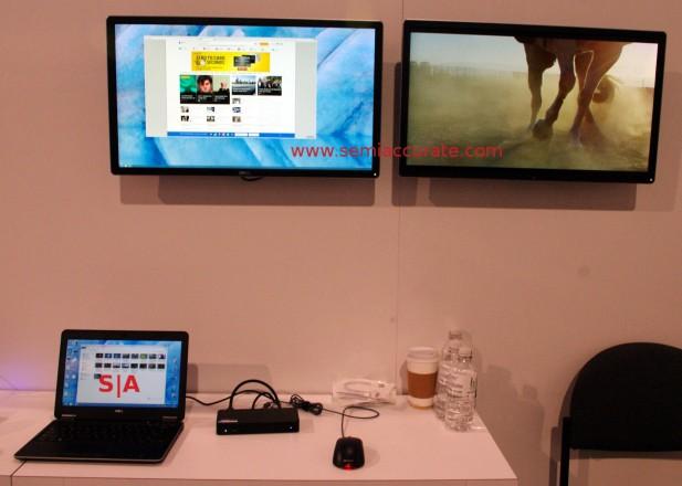 Displaylink dual 4K wireless