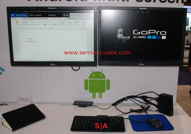 Displaylink dual monitor Android