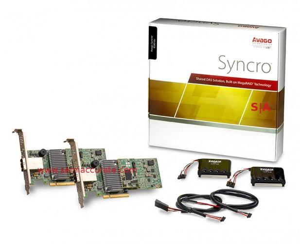 Avago 12gbps Syncro kit