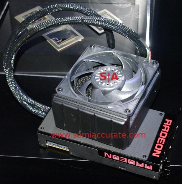AMD watercooled Fury X card