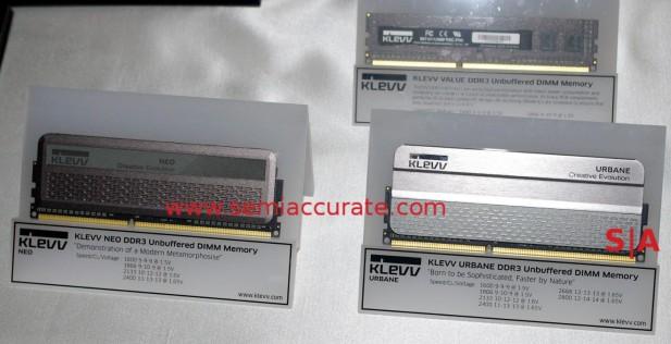 Hynix Klevv DDR3 sticks