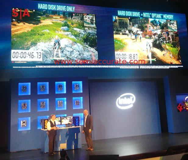 Intel Xpoint HDD demo