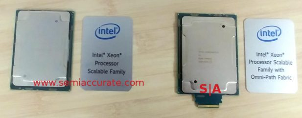 Intel Purley CPU packages